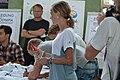 Einkleidung der deutschen Olympiamannschaft Rio 2016 Medientag Hannover 0472.jpg
