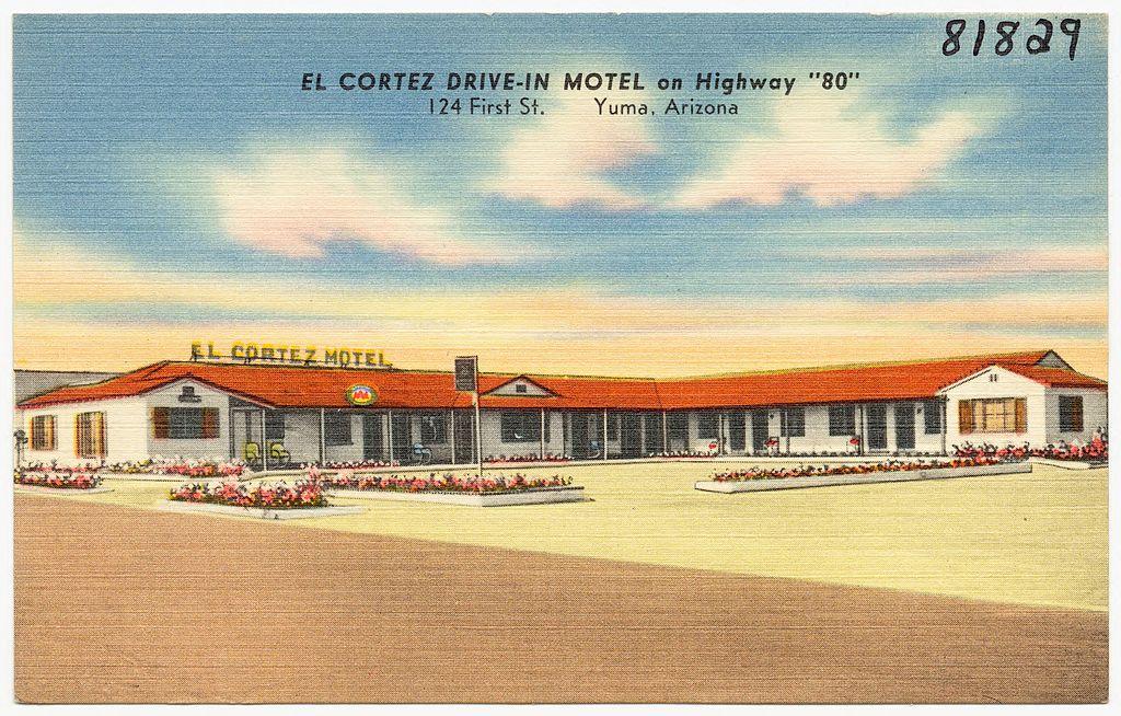 Motel  In Yuma Arizona