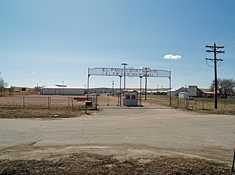 El Paso County, Colorado - El Paso County Fairgrounds in Calhan, Colorado