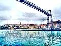 El Puente Vizcaya, Puente de Vizcaya, Puente Colgante, Puente Palacio, Bizkaiko Zubia - panoramio.jpg