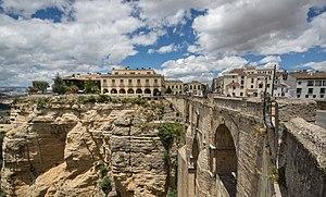 Puente Nuevo - Image: El Tajo de Ronda (1)