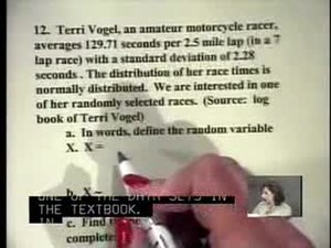 File:Elementary Statistics Video Lecture The Normal Distribution.ogv