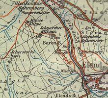 Ddr Grenze Karte Harz.Elend Harz Wikipedia