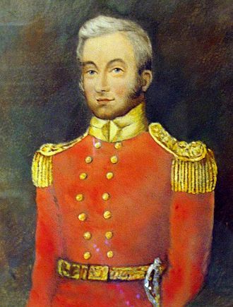 Citadelle of Quebec - Lieutenant Colonel Elias Walker Durnford, who oversaw the construction of the Citadelle by the Royal Engineers