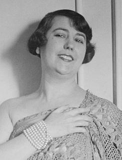 Elvira de Hidalgo Operatic soprano and pedagogue