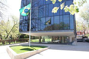 Embassy of Brazil, Washington, D.C. - Chancery of the Embassy of Brazil in Washington, DC