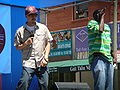 Emcee T & Ray Luv performing at 5th Annual AHSC 4.JPG
