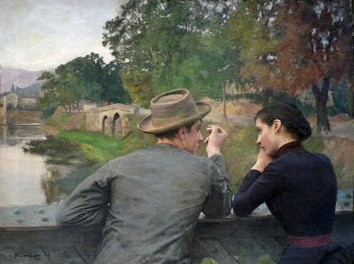 Emile Friant-Les Amoureux-Musée des beaux-arts de Nancy