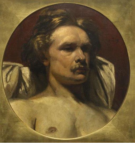 Emile Wauters - Portrait of a man at bust-length