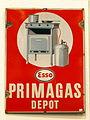 Enamel advert ESSO Primagas depot.JPG