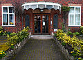 Entrance to Charter House apartments, SUTTON, Surrey, Greater London.jpg