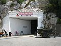 Entrance to WW II tunnels on northern side of Rock of Gibraltar.JPG