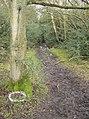 Entrance to footpath - geograph.org.uk - 350296.jpg