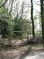 Entrance to private woodland - geograph.org.uk - 786624.jpg
