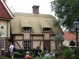 United Kingdom Pavilion at Epcot - An old world cottage