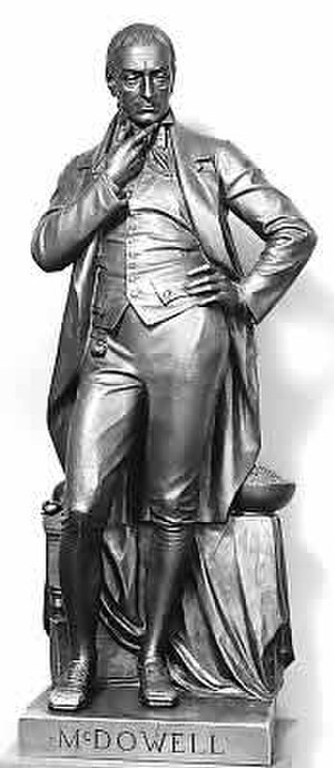Ephraim McDowell - Ephraim McDowell's National Statuary Hall Collection statue