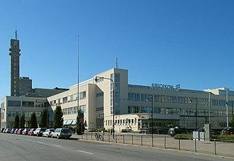 Ericsson - LM Ericsson's former headquarters at Telefonplan in Stockholm, see LM Ericsson building