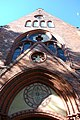 Erlöserkirche, Top of main entrance.jpg