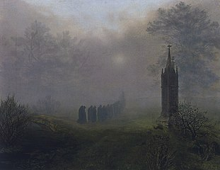 Procession in the Fog