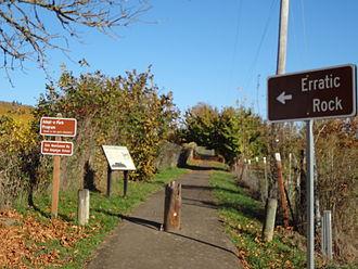 Erratic Rock State Natural Site - Erratic Rock Trail Image