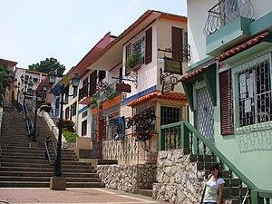 Escalinatas de Las Peñas