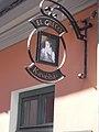 Esztergom 2016, El Greco Cafe cégére (Dojcsán Miklós, 2007).jpg
