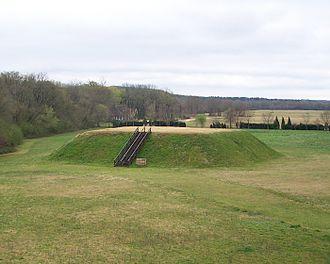 Etowah Indian Mounds - Mound C