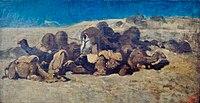 Eugène Fromentin Le repos des chameaux.jpg