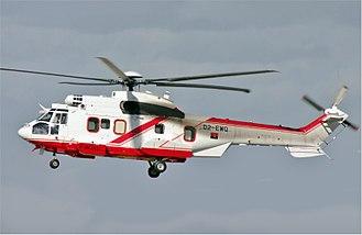 National Air Force of Angola - A Eurocopter AS 332L2 Super Puma