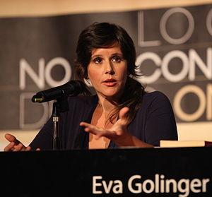Eva Golinger - Image: Eva Golinger 2012