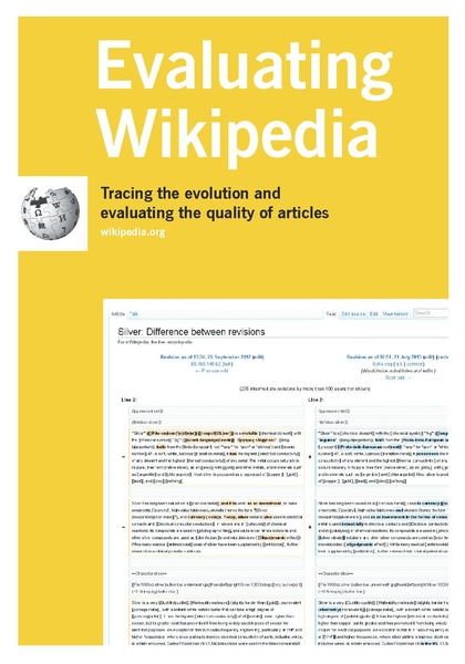 Evaluating Wikipedia brochure (Wiki Education Foundation)