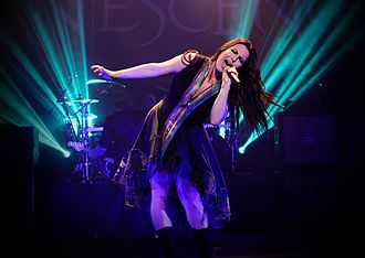 Evanescence - Evanescence in 2015 at the Wiltern Theatre in Los Angeles