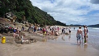 Hot Water Beach beach