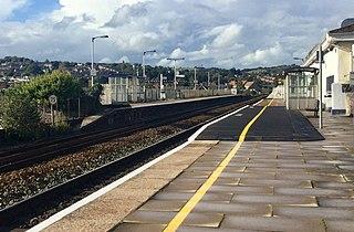 Exeter St Thomas railway station Railway station in Devon, England