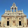 Extérieur de l'église du monastère d'Arkadi - 2.JPG