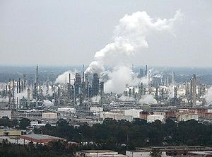 ExxonMobil facility in Baton Rouge