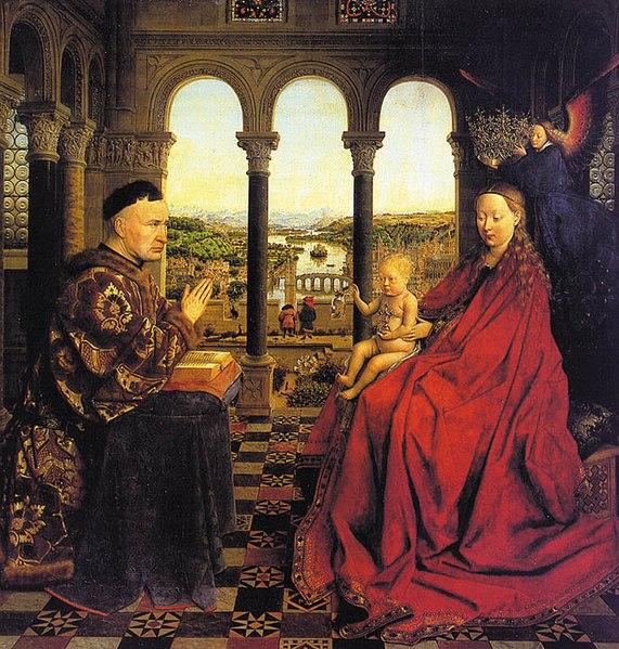 Archivo: Eyck madonna rolin.jpg