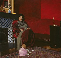 Madame Vallotton and her Niece, Germaine Aghion