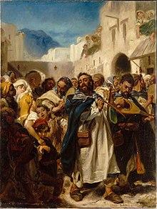 Festività ebraiche a Tetuan di Alfred Dehodencq (1865).
