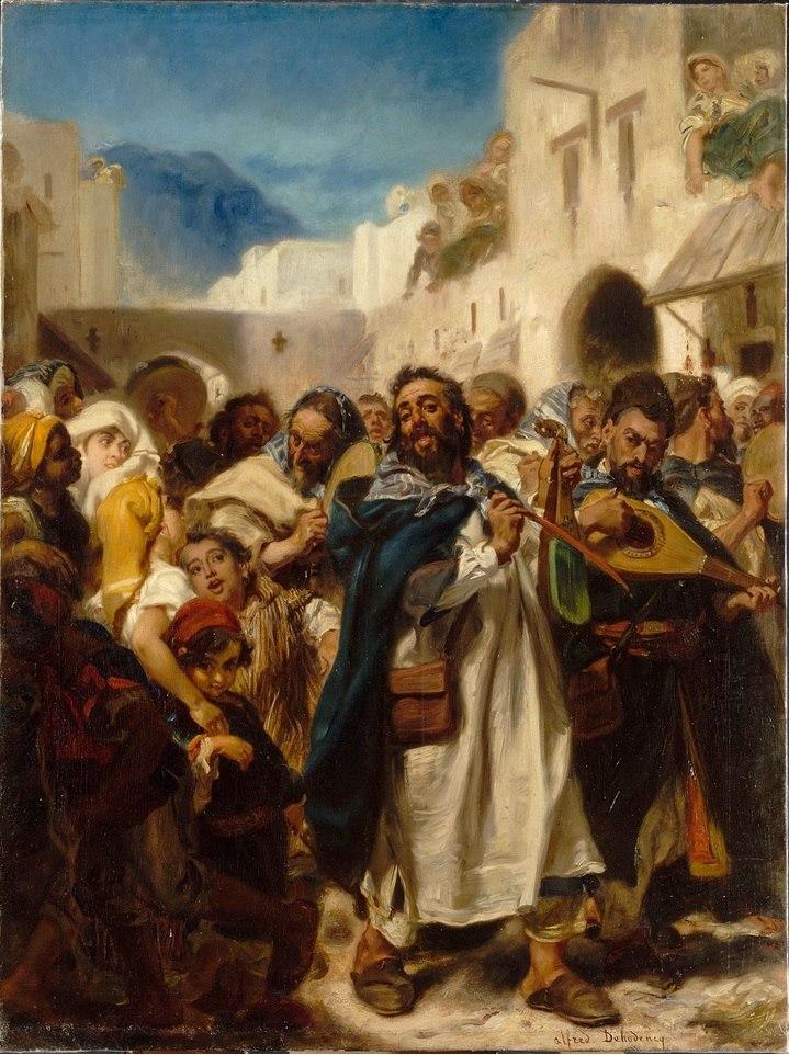 Fête juive à Tétouan, Alfred Dehodencq, 1865