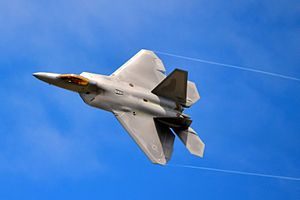 Airpower - The USAF's F-22 Raptor is currently regarded as the most capable air superiority fighter.