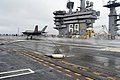 F-35C Lightening II aboard USS Dwight D. Eisenhower (21928151932).jpg