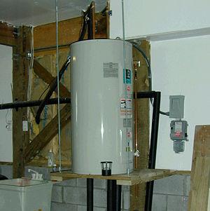 Water heating - Electric tank-type storage water heater (US)