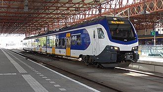 Rail transport in the Netherlands - Image: FLIRT 2211 Ehv