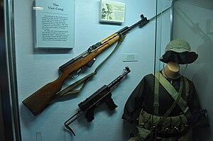 People's Liberation Armed Forces of South Vietnam - Quân trang của một lính du kích ở miền Nam