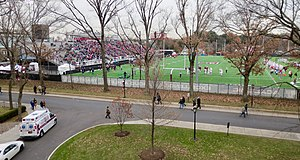 Fordham Rams football - Fordham vs. Sacred Heart at Jack Coffey Field.  Opening Round Playoffs, 2014.