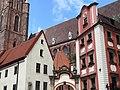Facade of Church of St. Elizabeth - Rynek (Market Square) - Wroclaw - Poland (9184219151).jpg