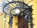 Facade with Wrought Ironwork - Pest Side - Budapest - Hungary.jpg