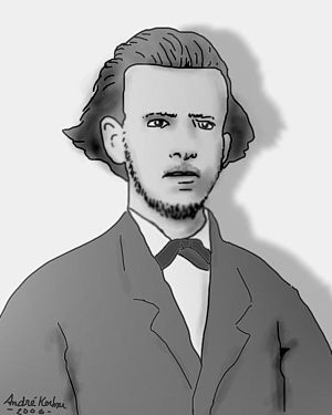 Fagundes Varela - A drawing of Fagundes Varela.