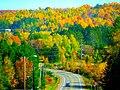 Fall Foliage Near Mellen - panoramio.jpg